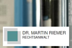 Dr. Martin Riemer
